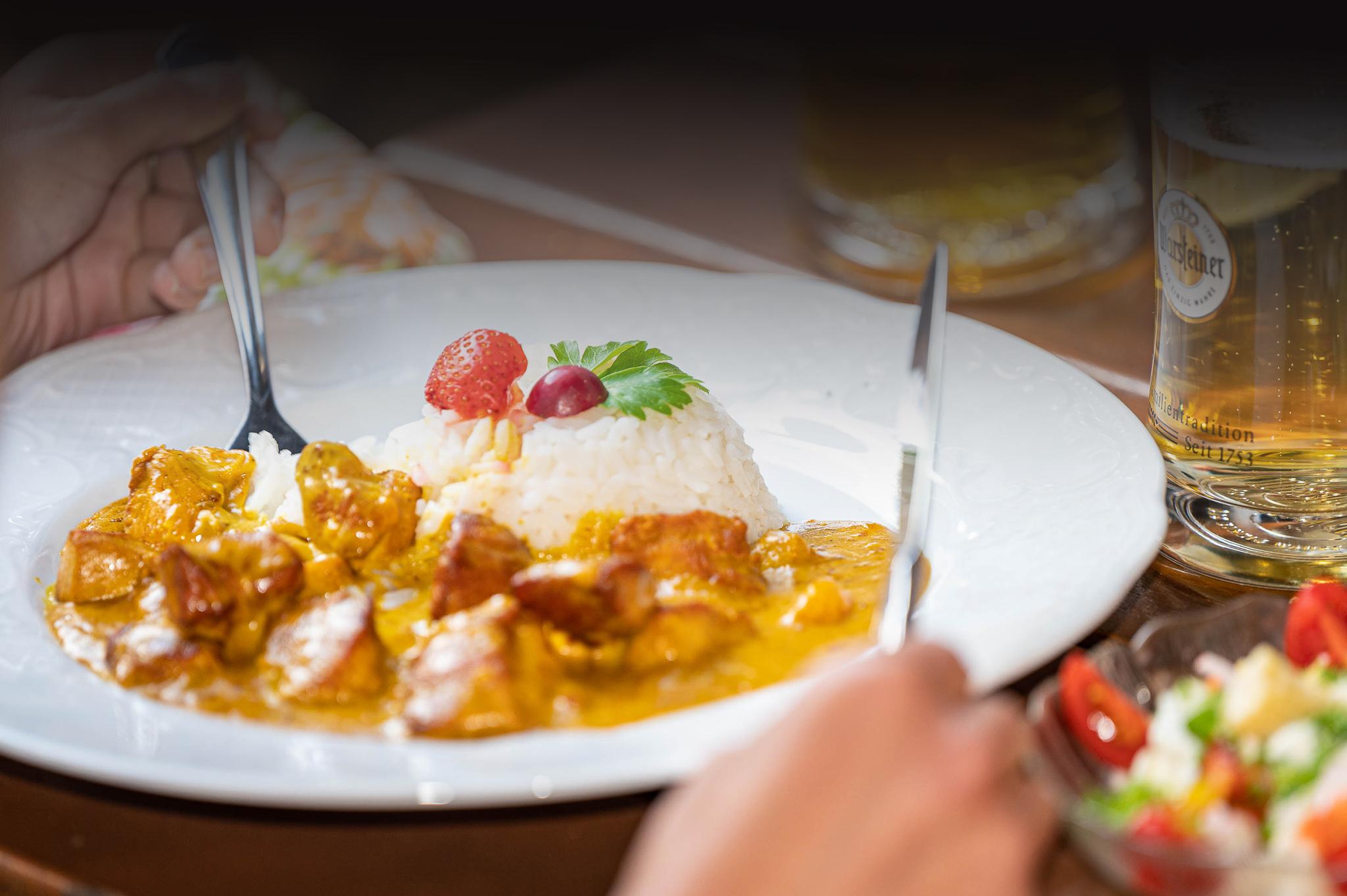 Essen in Nanni´s Kirchhahn